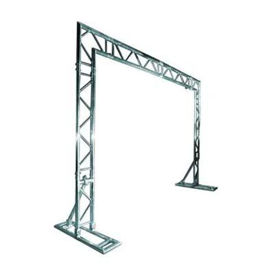 struttura alluminio backdrop